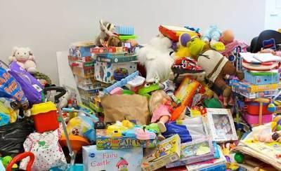 Campaña de recogida de juguetes en Hinojosa de San Vicente