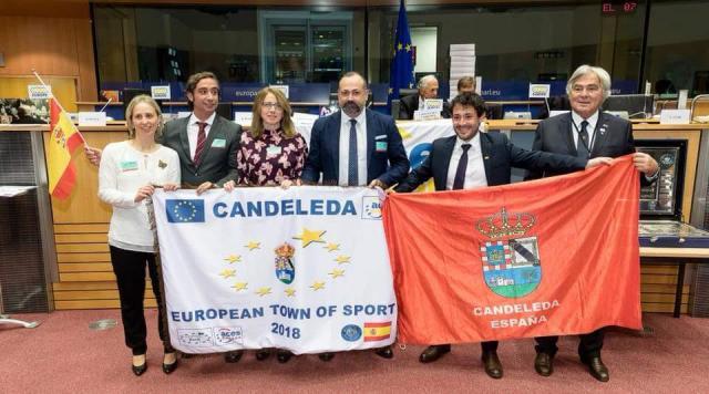 Candeleda recoge su título de Villa Europea del Deporte en 2018