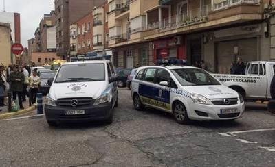 Se incendia una vivienda de la Calle Capitán Luque de Talavera