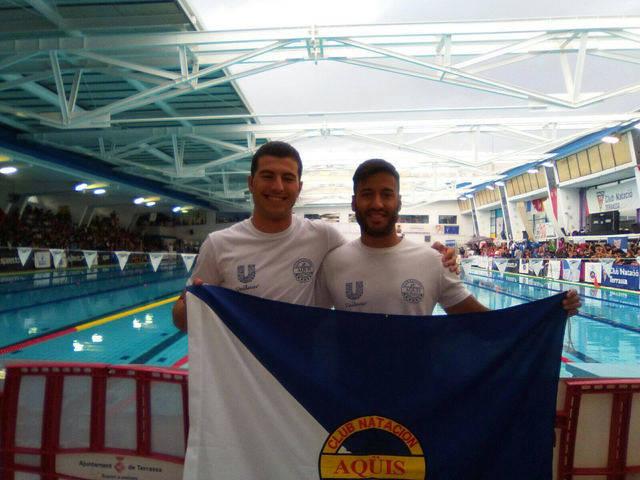 Dos nadadores del Aqüis en el Nacional
