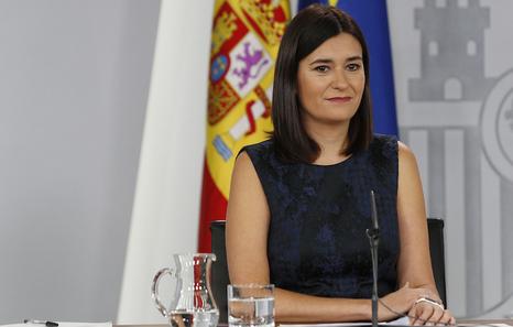 La ministra española de Sanidad, Carmen Montón. (LA MONCLOA)