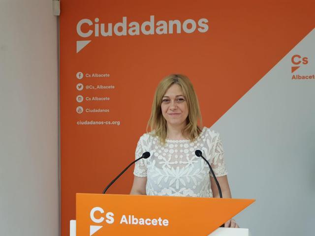 La portavoz del Ciudadanos en las Cortes regionales, Carmen Picazo