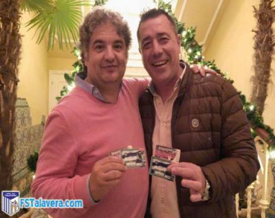 Santi Ramos y José Antonio Dorado, los presidentes de los clubes afectados.
