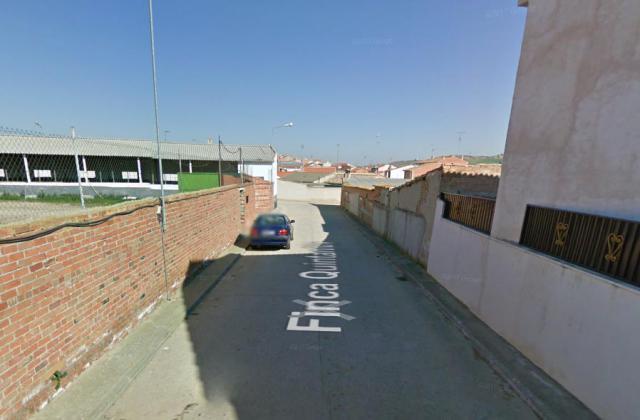 Calle Abraham Quintanilla de El Carpio de Tajo, donde ocurrieron los hechos