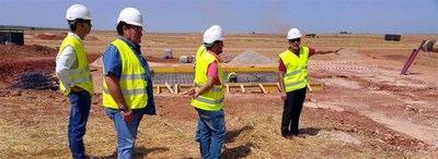 Junta afirma que la planta fotovoltaica de El Carpio de Tajo comenzará a funcionar en diciembre de este año