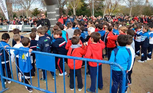 Ramos asiste a la Carrera de Promoción del Atletismo