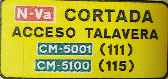 La principal entrada a Talavera desde Madrid estará cortada 10 días