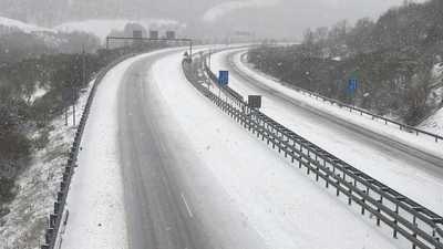 Castilla-La Mancha registra 30 incidencias leves por nieve