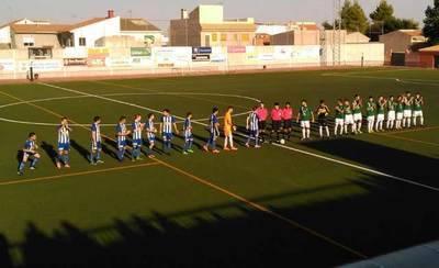 Primera victoria a domicilio del CF Talavera en Carrión (1-2)