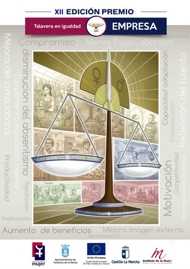 Abierto el plazo de inscripción Premio Talavera Igualdad Empresas