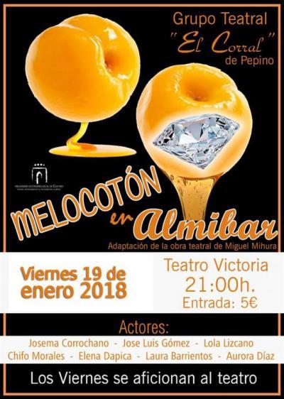 'El Corral' asegura diversión con la obra 'Melocotón en Almíbar', este viernes en el Victoria