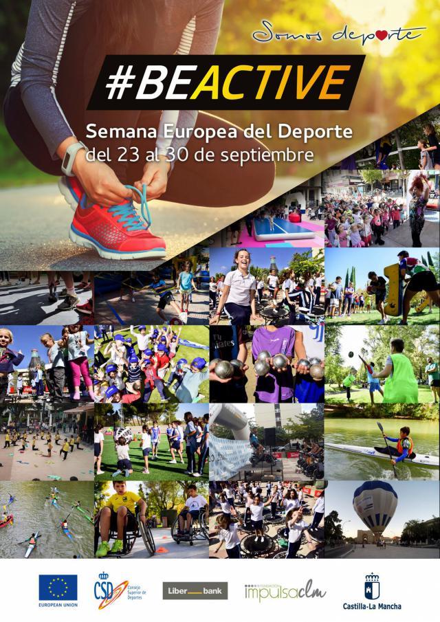 600 actividades para celebrar la Semana Europea del Deporte en CLM