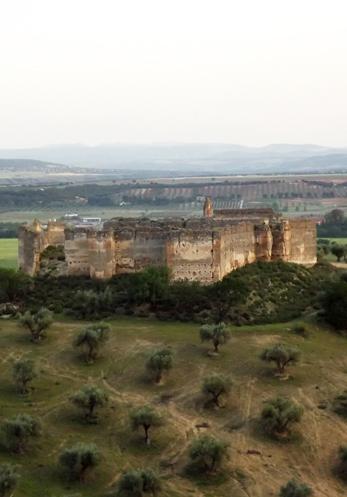 Castillo de Villalba, en Cebolla