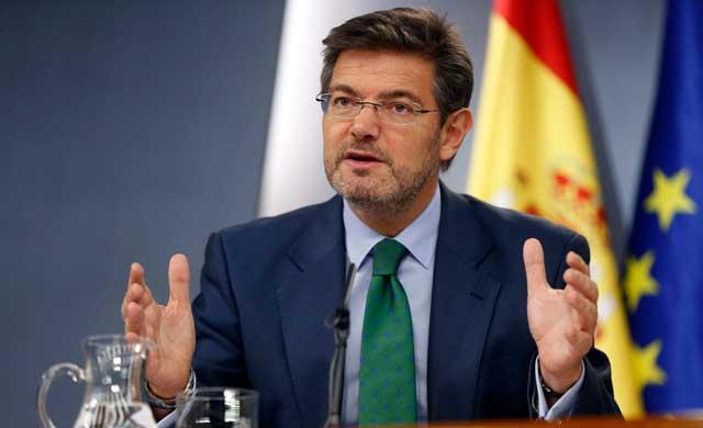 Catalá, sobre corrupción:
