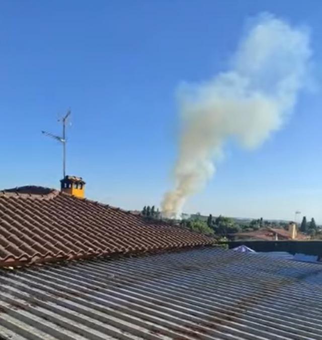 Extinguido el incendio forestal de Cazalegas