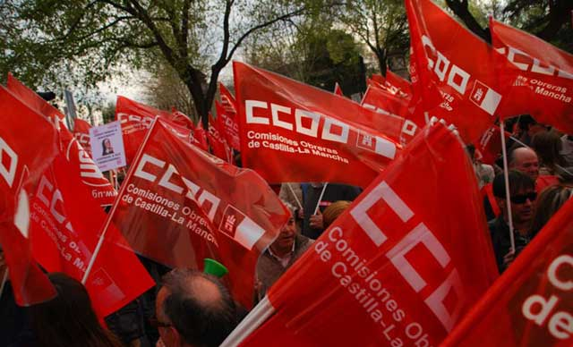 CCOO CLM celebra este lunes su 40º aniversario como organización sindical