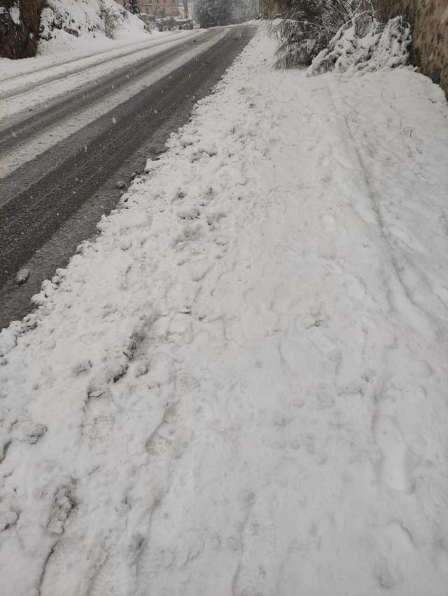 NIEVE | Sigue en marcha el operativo especial en las carreteras de la provincia de Toledo