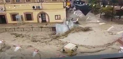 Más vídeos de la inundación de Cebolla