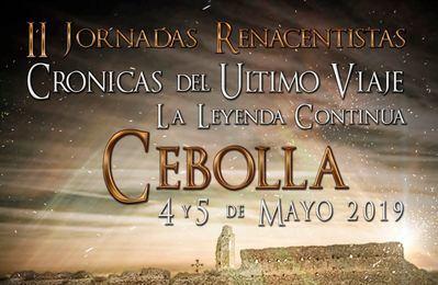 """Cebolla celebra su """"II Jornadas Renacentistas"""""""