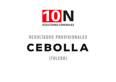 ESPECIAL 10-N | El PSOE gana en Cebolla con el 40,82 por ciento de los votos