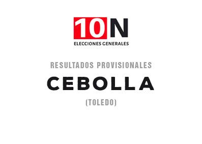 ESPECIAL 10-N   El PSOE gana en Cebolla con el 40,82 por ciento de los votos