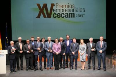 Nicolás exalta las trayectorias de los premiados por Cecam y abre la puerta a celebrar la gala en otras provincias