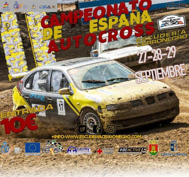 Talavera acoge el II Campeonato de España de Autocross Escudería Cerro Negro