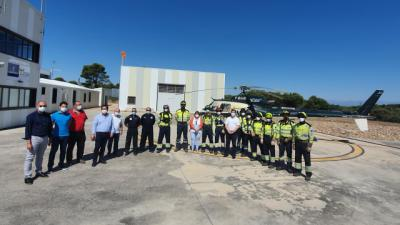 CERRO NEGRO | La comarca de Talavera, preparada para la lucha contra incendios