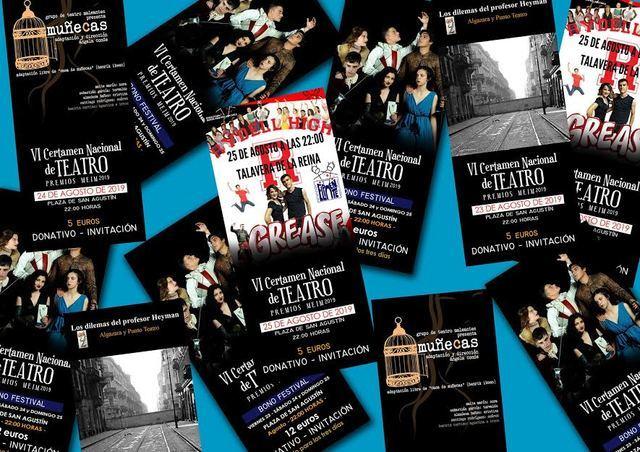 El Certamen del VI Festival Nacional de Teatro Ciudad de Talavera presenta tres obras este fin de semana.