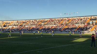 El Talavera cae en Badajoz y sigue coqueteando con el descenso