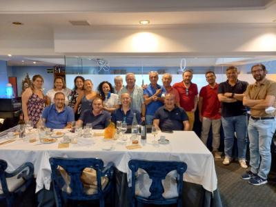 Las autoescuelas de Talavera se reúnen en una comida de hermandad