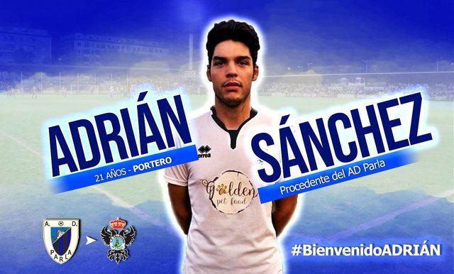 Adrián Sánchez, el nuevo guardián del CF Talavera