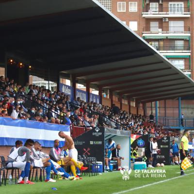 Esta tarde tienes que animar al CF Talavera en 'El Prado'