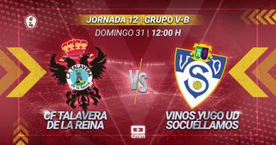 FÚTBOL | Este es el once inicial con el que se enfrentará el CF Talavera al Yugo UDS