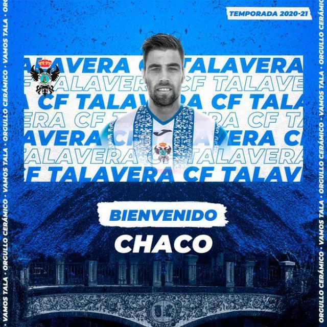 FICHAJES   Chacopino, un delantero tanque de área que elige el CF Talavera