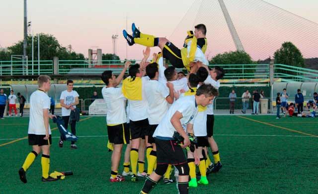 El Juvenil A del Ciudad de Talavera, campeón del Grupo VII del Juvenil Provincial