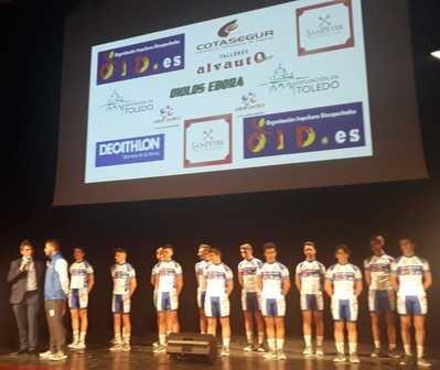 Presentación oficial del equipo OID Cycling Team-Ciclos Ebora