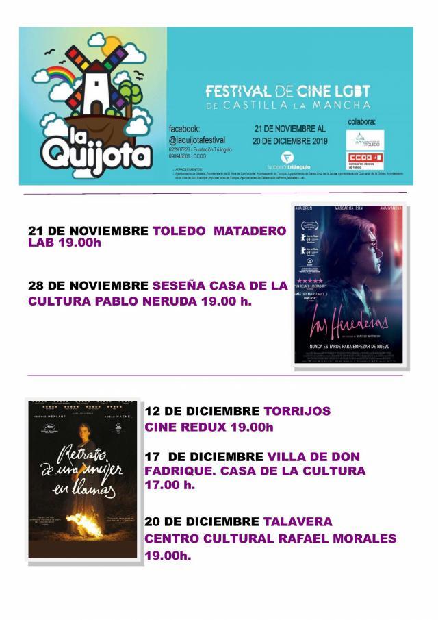 El II Festival de Cine LGBTI 'La Quijota' recorrerá también los pueblos de la provincia de Toledo