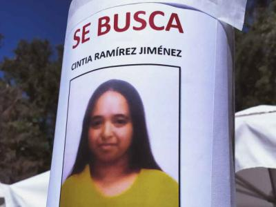 Buscan a Cintia Ramírez, desaparecida en Almorox (Toledo)