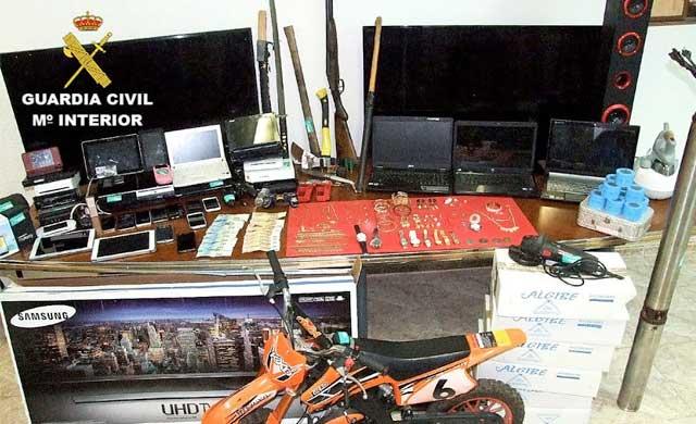 Desarticulado un grupo especializado en robos en varias provincias