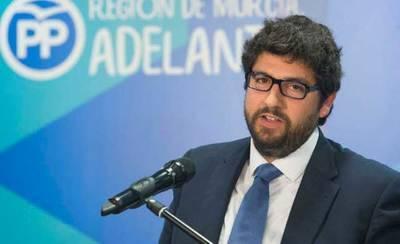 El presidente de Murcia, Fernando López Miras: