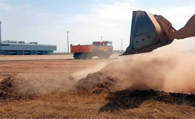Comienzan las obras del hangar de mantenimiento en el aeropuerto de Ciudad Real