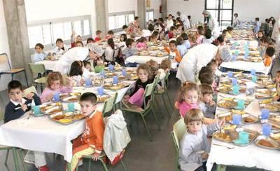 Se abre el plazo para solicitar ayudas de la Junta para comedor escolar