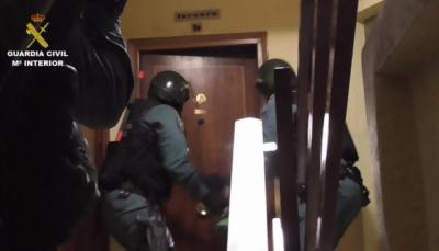 Cae una peligrosa banda dedicada al robo en viviendas, cajeros y naves