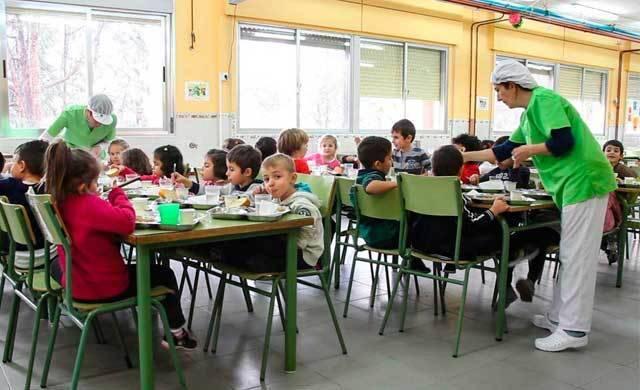 CLM concederá el próximo curso escolar 13.000 ayudas de comedor