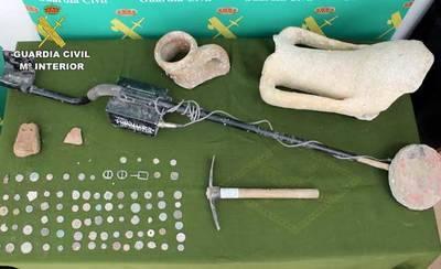 La Guardia Civil recupera 23.000 piezas arqueológicas expoliadas