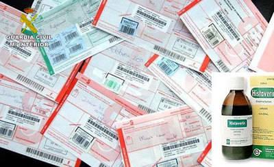 Detenido por falsificar recetas médicas en varias farmacias