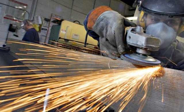 La producción industrial sube en CLM un 3,2% en 2017