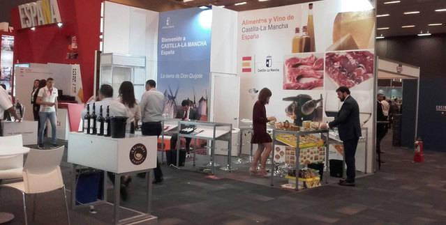 Buena acogida de CLM en Expo Antad & Alimentaria México