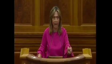 Cataluña monopoliza la bronca sesión de este jueves, que termina antes de lo previsto por el abandono del PP